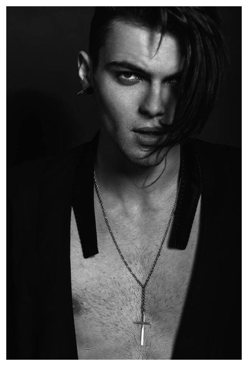 Model Axel Swan shot by Anton Bjorkmann