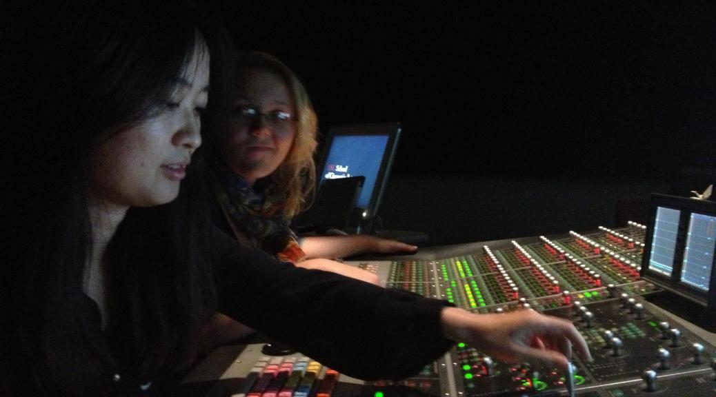 Sound designer Veronica Li's work takes a STAND