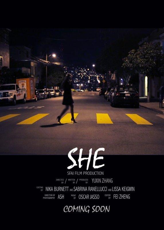 """""""She"""" film poster"""