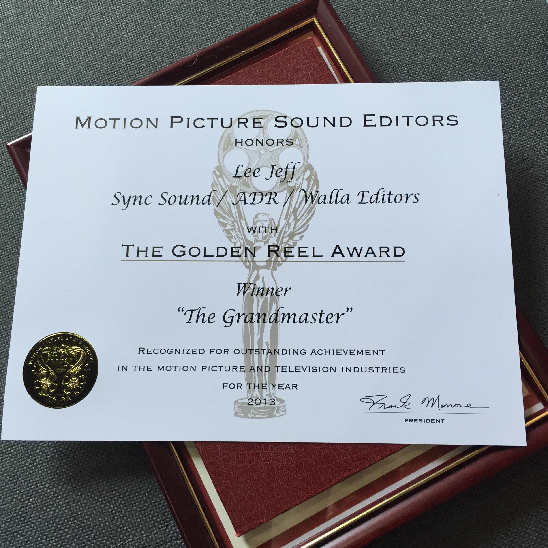 The Grandmaster -MPSE best sound editing