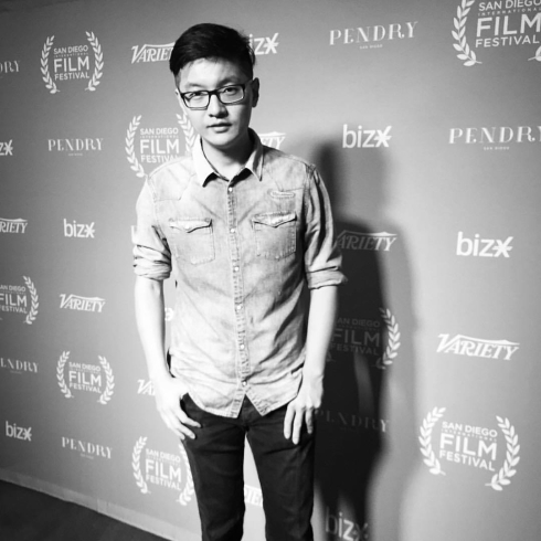 VFX artist and director Zhaoyu Zhou23592110_10215392853721198_2657579445691441541_o