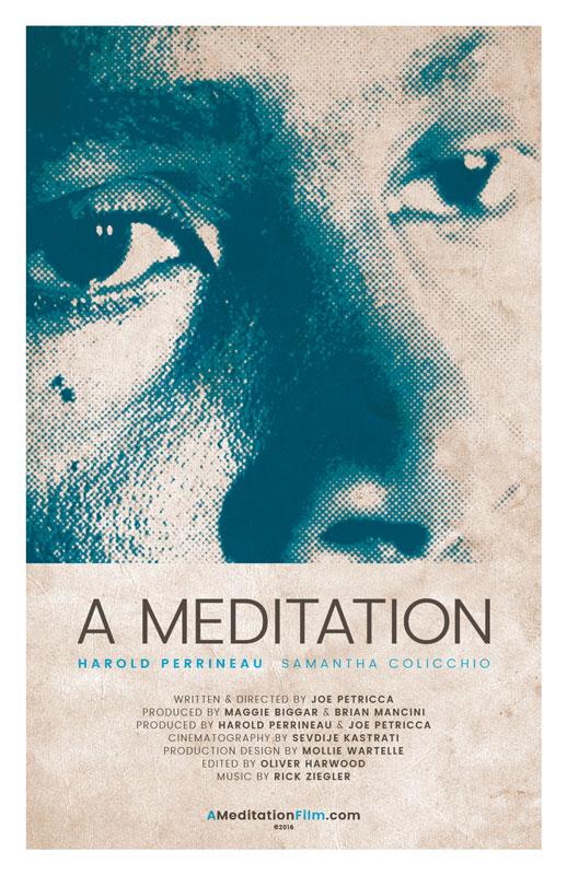 "Film Poster for ""A Meditation"""