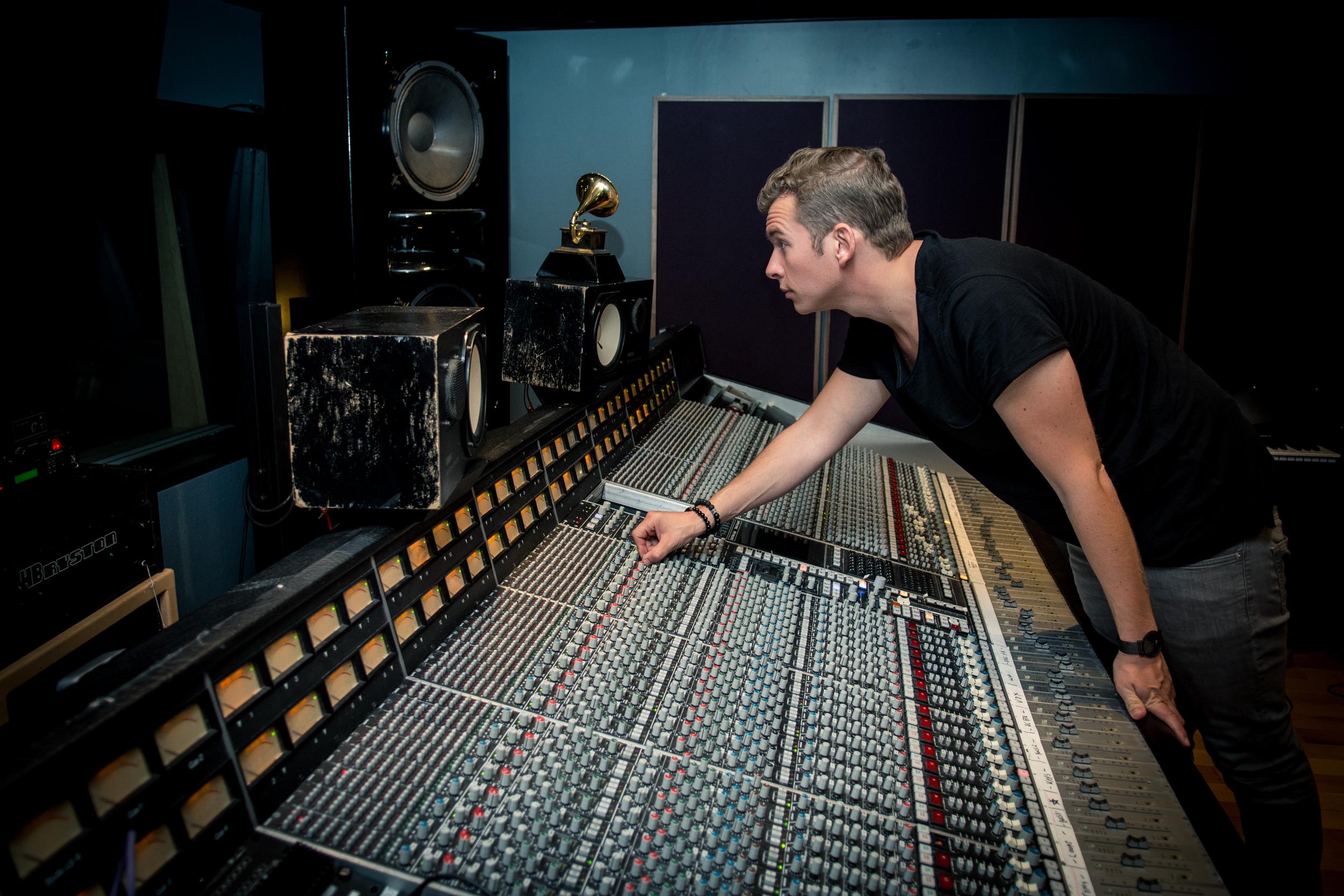Music Producer Peder Etholm-Idsoee shot by Alex Winter