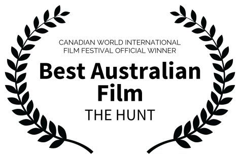 CANADIAN WORLD INTERNATIONAL FILM FESTIVAL OFFICIAL WINNER - Best Australian Film - THE HUNT