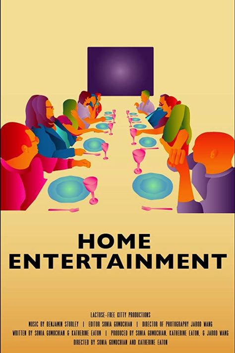 "Poster for the new film ""Home Entertainment"""