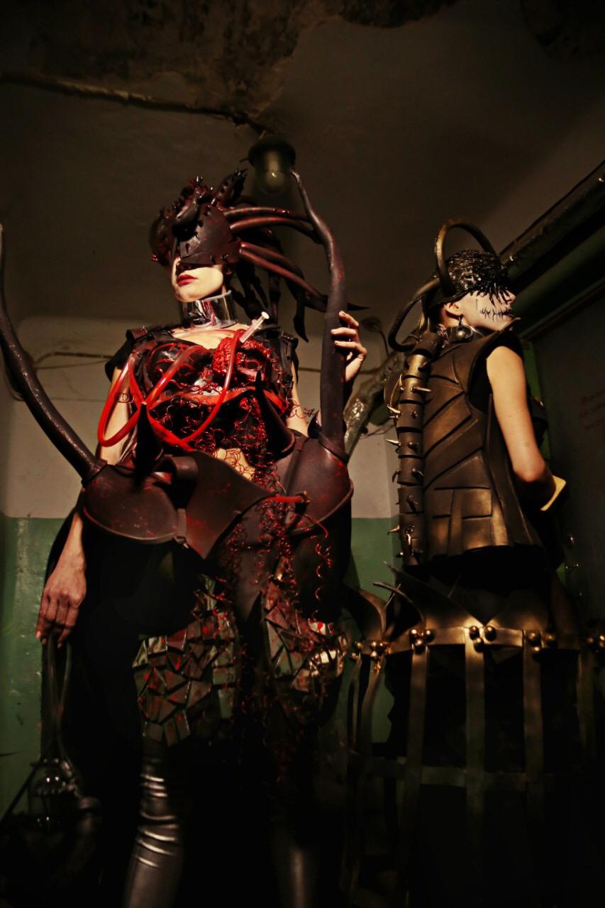 Costume designed by Viktoriia Vlasenko
