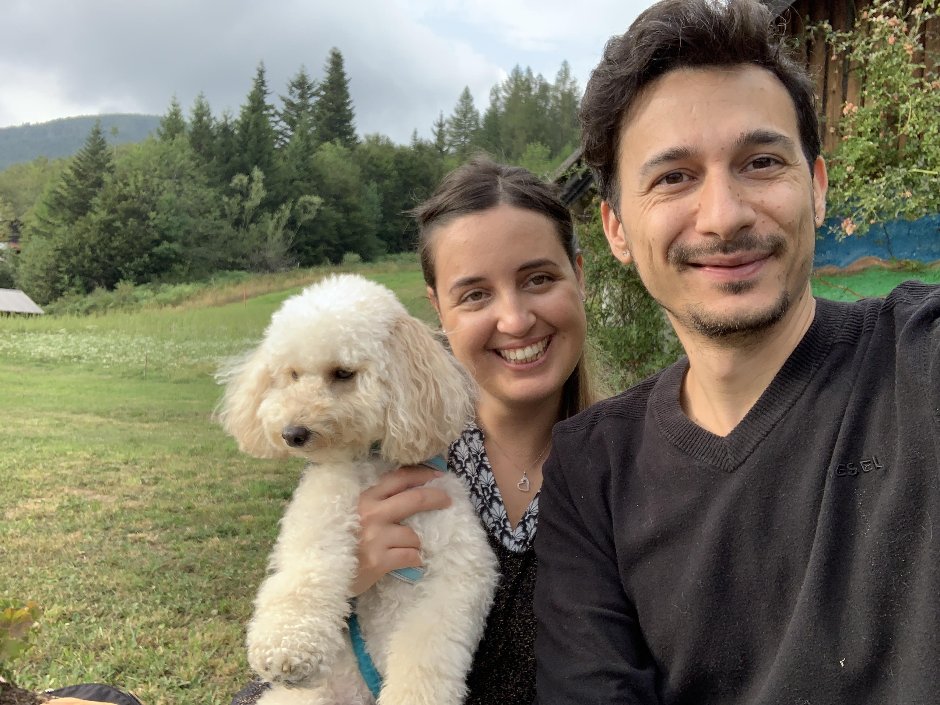 Alice Del Corso and Philip Morelli